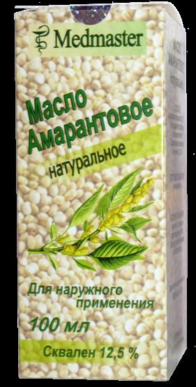 Упаковка Амарантовое масло сквален 12,5 %