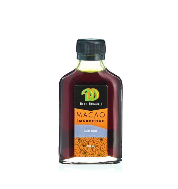 Тыквенное масло в бутылочке