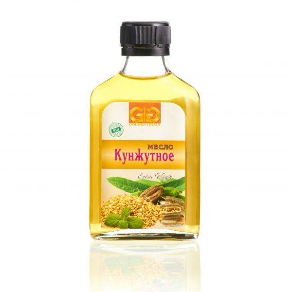 Кунжутное масло в бутылочке