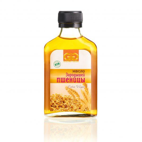 Масло зародышей пшеницы в бутылочке