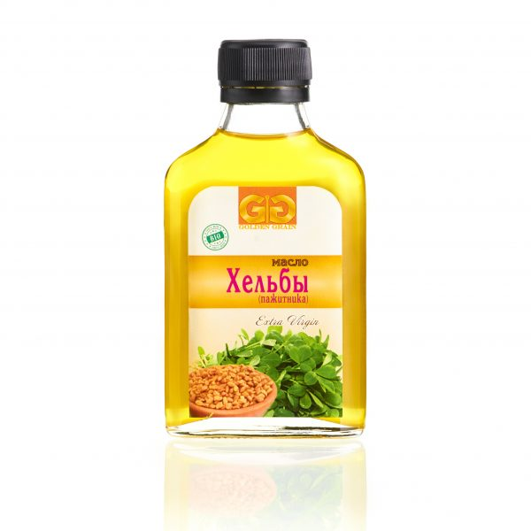 Масло хельбы (пажитника) в бутылочке