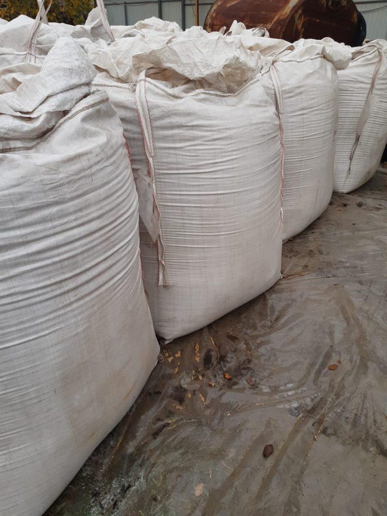 23 октября 2020 - амарантовое зерно после уборки в бигбагах (мешки по 1100-1200 кг)